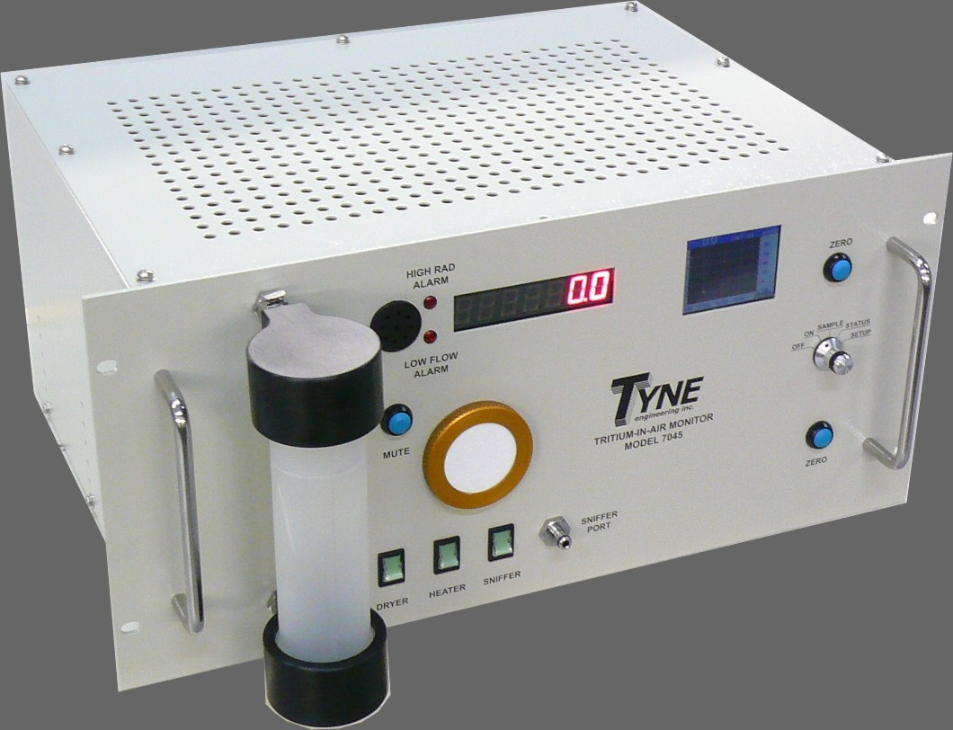 Tyne Engineering Profile Systems Mechanical Electronic Subcontract Design Tynes Model 7045 Fixed Tritium In Air Monitor